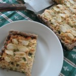 Salmon and Zucchini Quiche recipe from Snoutz Adventures